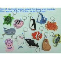 Marine Animal Coin Purse with Keychain