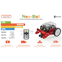 Neo-Bot. STEAM Education Toy. Inventor and Programming Education Robot.
